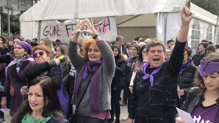 Martxoak 8 Mobilizazioa Donostian