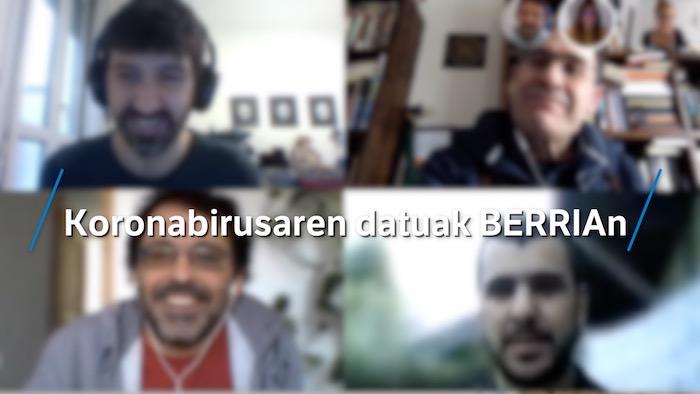 Etxeko Leihotik: Koronabirusaren datuak BERRIAn
