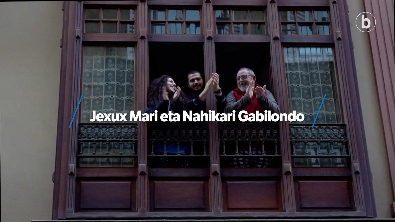 Elkarrizketa digitala: Jexux Mari eta Nahikari Gabilondo