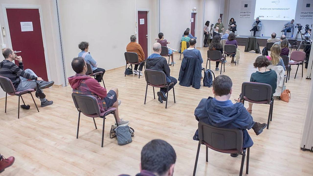 Martin Ugalde Foroa: Euskara ere normalitaterantz?