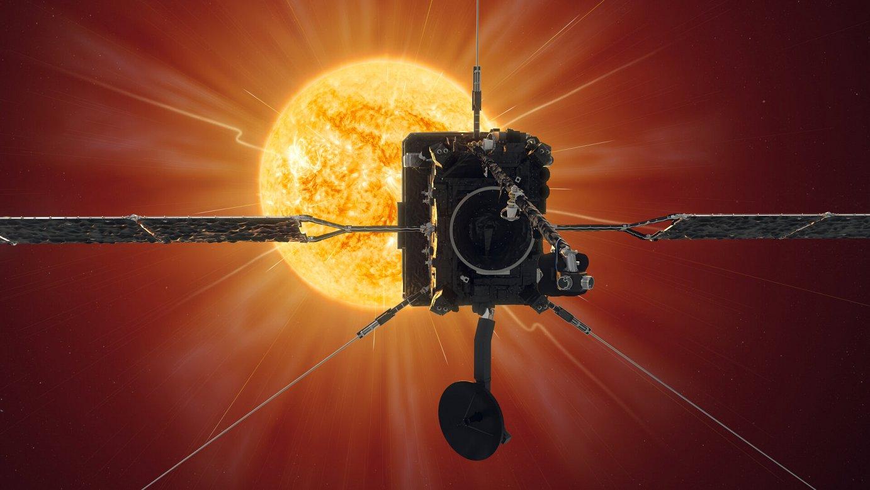 'Solar Orbiter' zunda lehen aldiz hurbildu da Eguzkira.