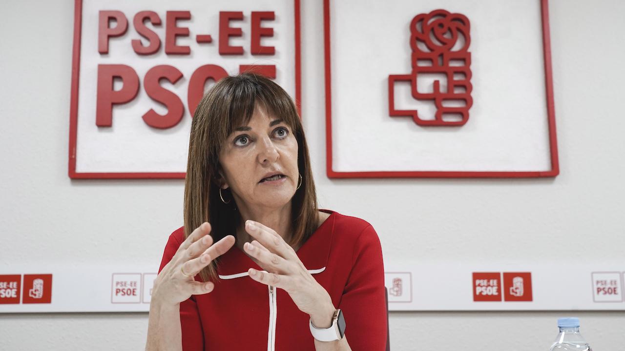 Idoia Mendia, PSE-EEren lehendakarigaia