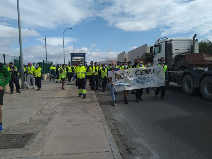 CAFek Castejongo lantegia ixtea erabaki du. Protestak