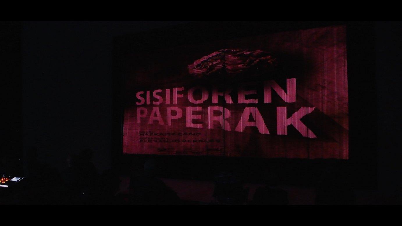 'Sisiforen paperak' antzezlana