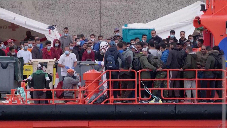 Migrazio krisia Kanarietan