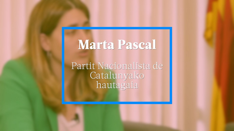 Marta Pascal, Partit Nacionalista de Catalunyako hautagaia