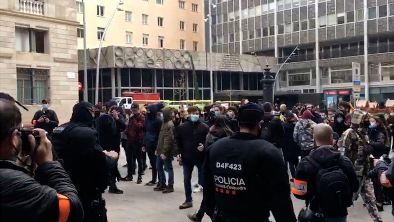 Arranen eta CDRen protesta, Jusapolen elkarretaratzean