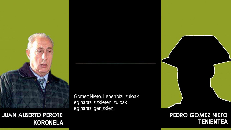 Alberto Perotek eta Pedro Gomez Nietok izandako elkarrizketaren bertsio zabala