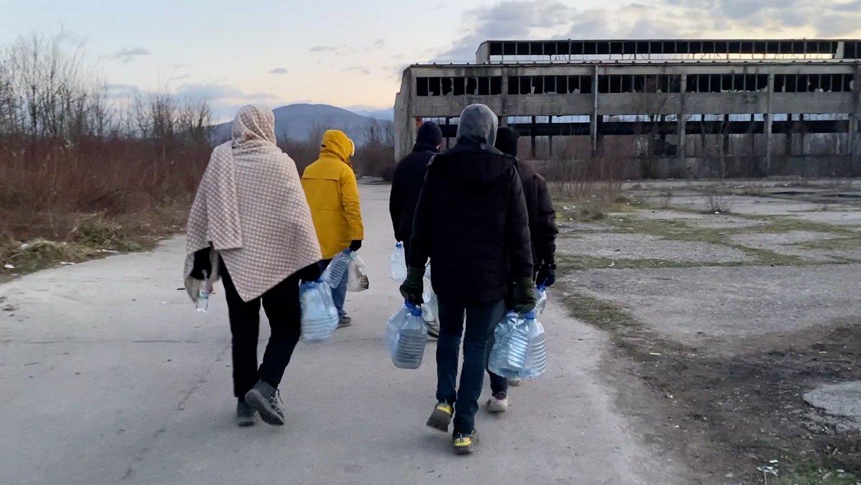Bosnia eta Kroaziaren artean harrapatuta