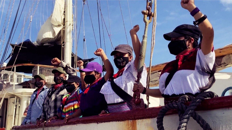 EZLNko zenbait kide Europara bidean dira