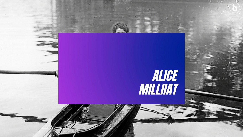 SEIGARREN UZTAIA | Eraztun Morea, Alice Milliat