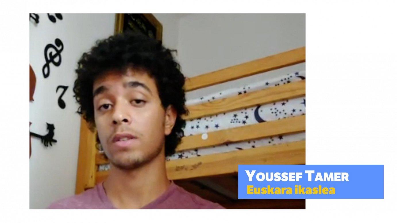 Youssef Tamer, euskara ikasten ari den egiptoarra