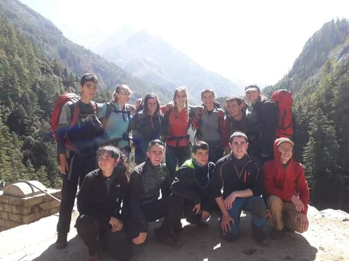 Lehenengo egunak Nepalen