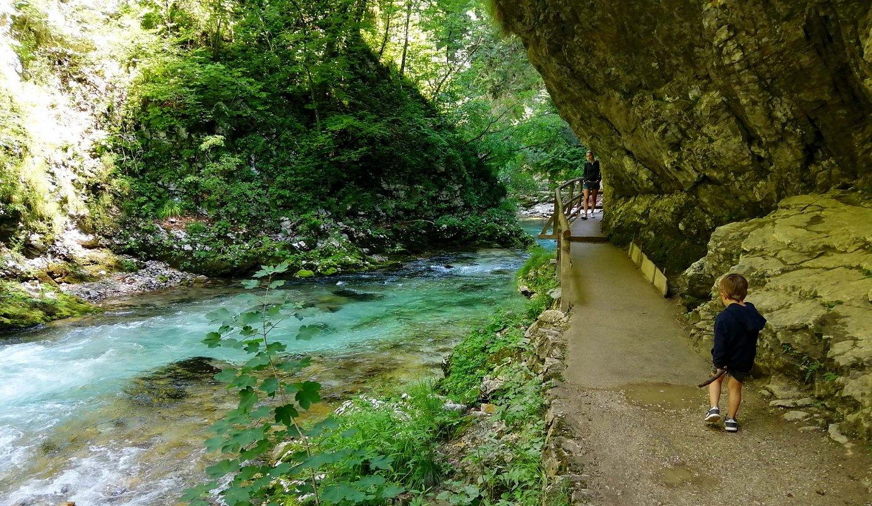 Menditxiki: Vintgarreko arroila (Eslovenia)