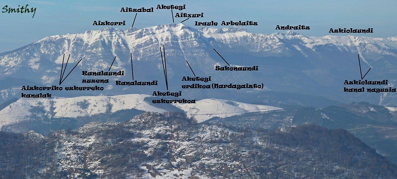Aizkorriren ipar aurpegia: Goierrin alpinista izatera jolasten