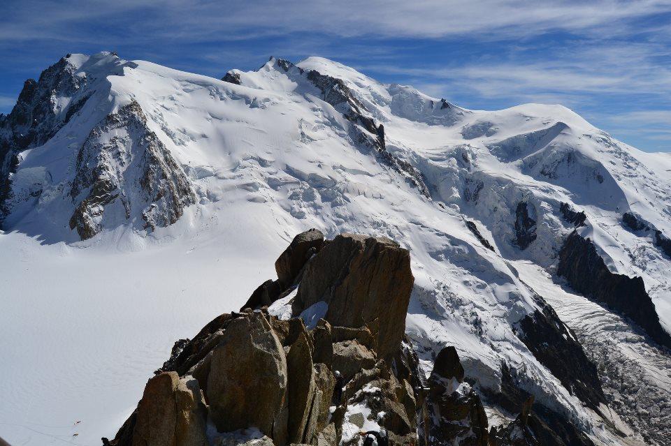 Mont Blanc Aiguille du Miditik